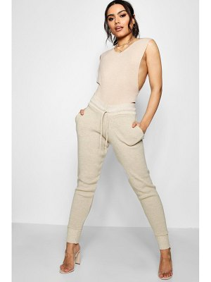 Boohoo Boutique Heavy Knitted Lounge Jogger