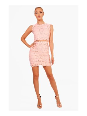 Boohoo Boutique Laura Mesh Panel Bodycon Dress