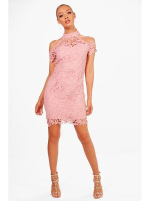 Boohoo Boutique Vera Corded Lace Midi Dress