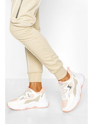 Boohoo Chunky Colour Block Trainer