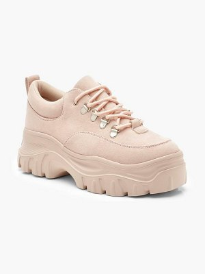 Boohoo Chunky Lace Up Hiker Trainers