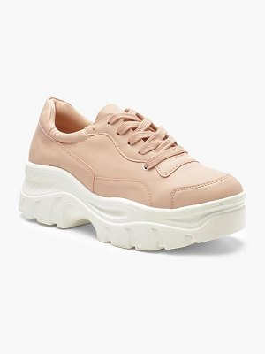 Boohoo Chunky Sole Lace Up Hiker Sneakers