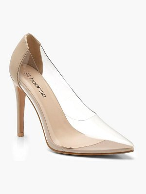 Boohoo Clear Court  Shoes