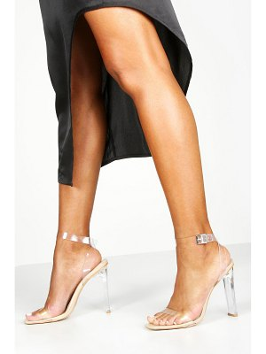 Boohoo Clear Flat Heel 2 Parts