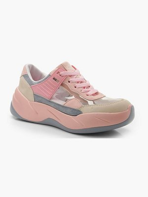 Boohoo Clear Panel Multi Colour Sneakers