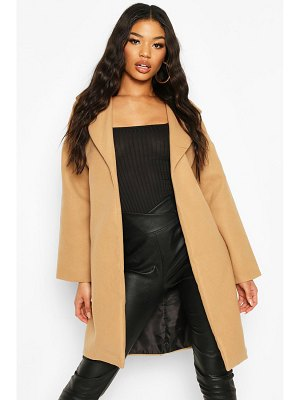 Boohoo Collared Wool Look Coat