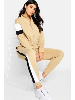 Boohoo Colour Block Tracksuit