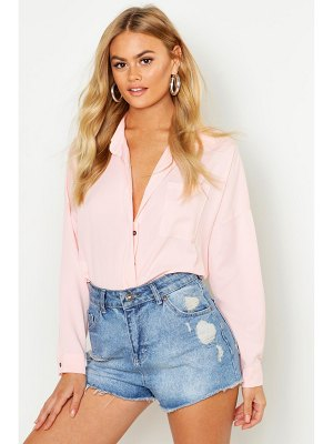 Boohoo Concealed Placket Shirt