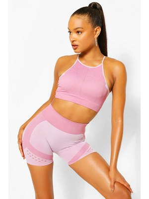 Boohoo Contour Rib Seamfree Cycling Shorts