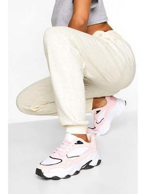Boohoo Contrast Sole Chunky Sports Sneakers