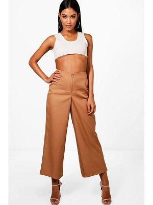 Boohoo Crop Wide Leg Trouser