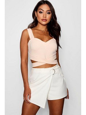 Boohoo Cut Out Bralet