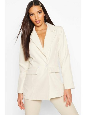 Boohoo Double Breasted Blazer