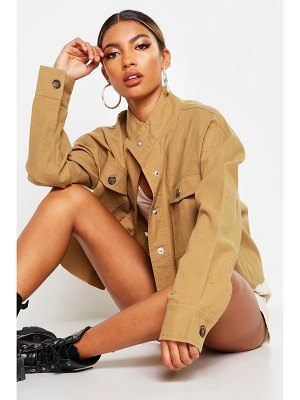 Boohoo Double Pocket Utility Jacket