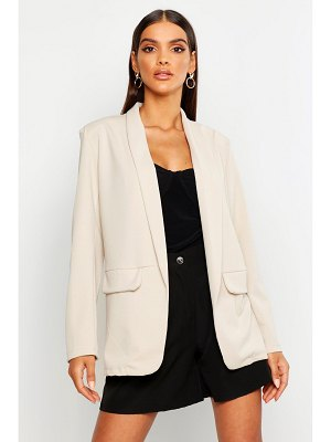 Boohoo Edge To Edge Tailored Blazer