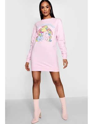 Boohoo My Little Pony Sweat Dress