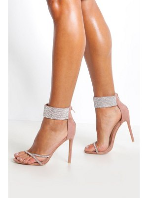 Boohoo Embellished Cuff 2 Part Heels