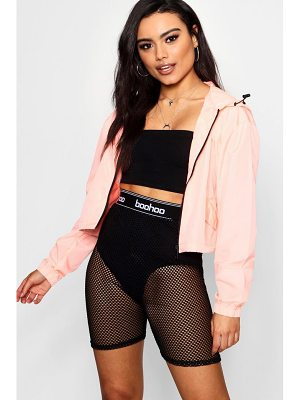 Boohoo Crop Sports Jacket
