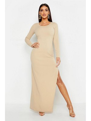 Boohoo Extreme Split Maxi Dress