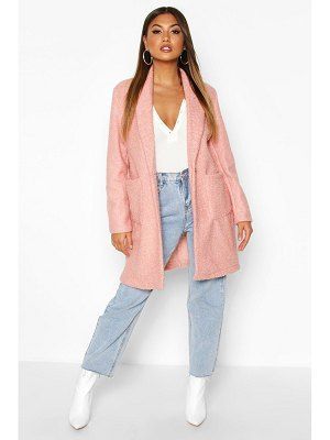 Boohoo Faux Teddy Fur Jacket