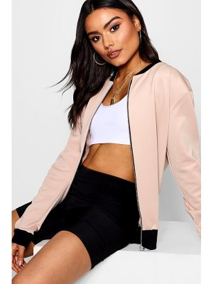Boohoo Basic Bomber Jacket