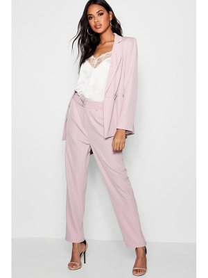 Boohoo Izzie Stripe Tailored Suit Trouser