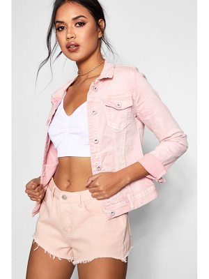 Boohoo Jade Cotton Twill Jacket