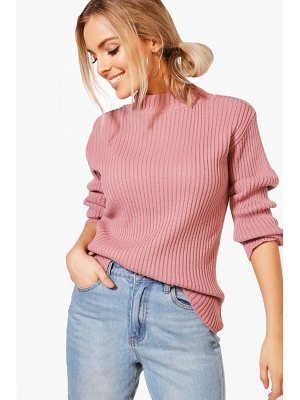 Boohoo Rib Knit Jumper
