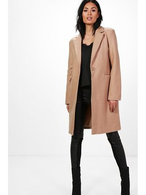 Boohoo Kelly Wool Look Coat