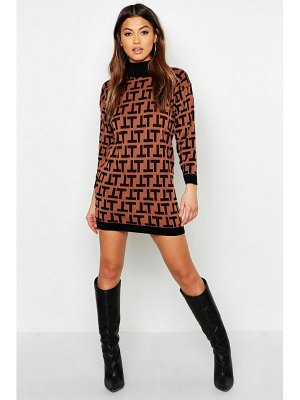 Boohoo Knitted Mini Dress