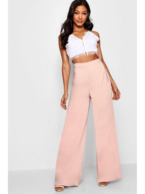 Boohoo Latoya Woven High Waisted Slim Fit Trouser
