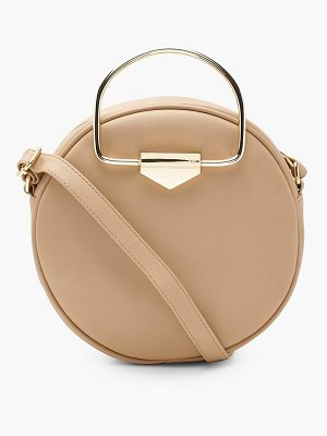 Boohoo Lottie D Ring Round Cross Body Bag