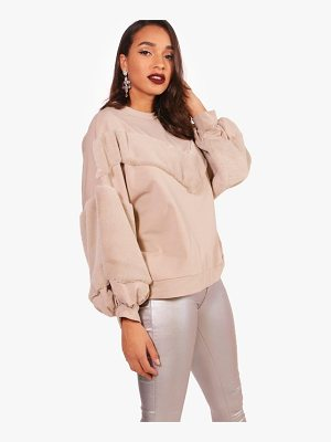 BOOHOO Lottie Faux Fur Sweats