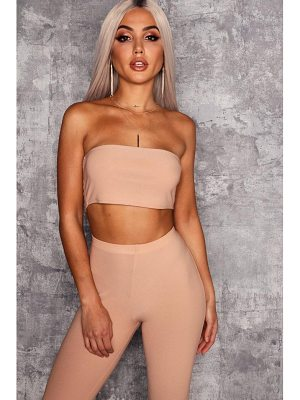 Boohoo Bandeau Crop Top