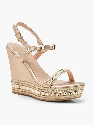 Boohoo Studded Wedges