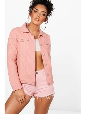 Boohoo Milly Oversized Cord Trucker Jacket