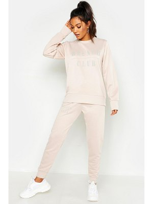 Boohoo Mix & Match Brunch Club Lounge Jogger