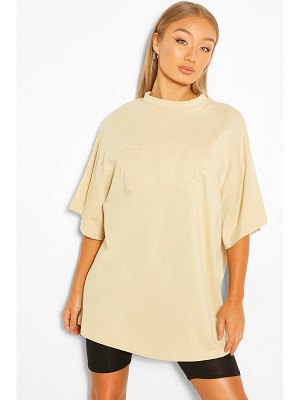 Boohoo Nyc Applique Oversized T-Shirt
