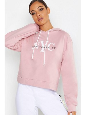 Boohoo NYC Sweat Hoody