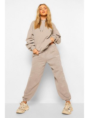 Boohoo Ofcl Studio Overdyed Marl Tracksuit