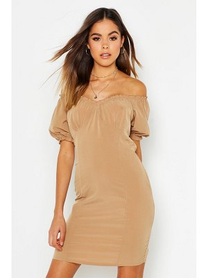 Boohoo Off Shoulder Gypsy Dress