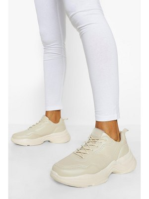 Boohoo Official Branded Chunky Sneakers