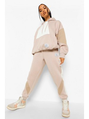 Boohoo Official Product Colour Block Joggers
