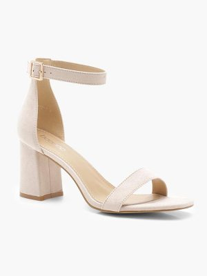 Boohoo Olivia Low Block Heels