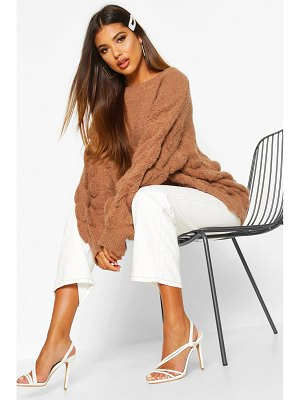 Boohoo Oversized Bobble Knit sweater