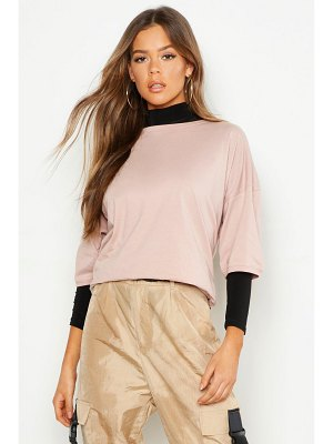 Boohoo Oversized Compact Cotton T Shirt