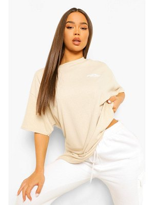 Boohoo Oversized Limited Edition Back Graphic T-Shirt
