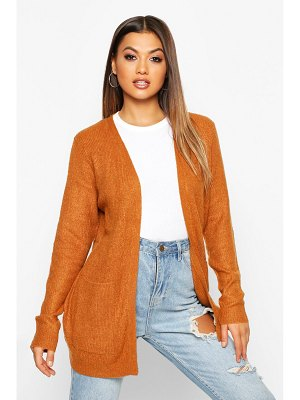 Boohoo Oversized Pocket Detail Cardigan