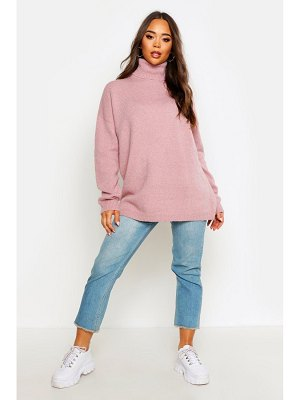 Boohoo Oversized Roll Neck Sweater