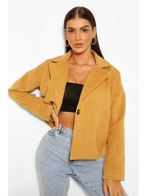Boohoo Oversized Short Wool Look Coat